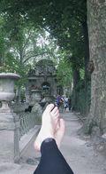 "Bailey Alexander's ""The Things My Feet Have Seen"" series/Paris/2011/Medici Gardens"